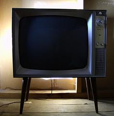 vintage television by phrenzee